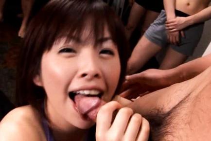 Orgy public sex