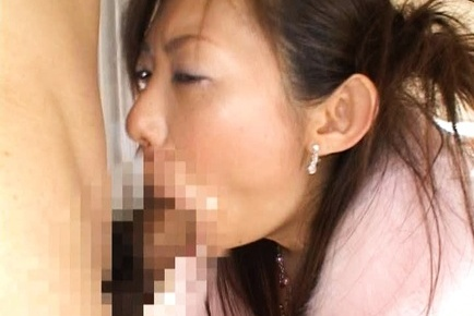 Japanese av model. Japanese AV Model takes dong deepthroat and