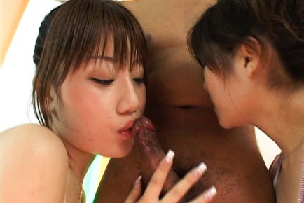 Sexy hitomi odagiri blowjob and fuck