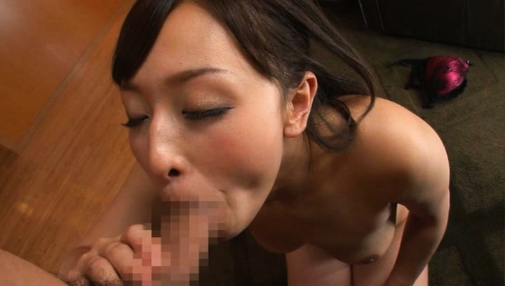 Japanese av model. Japanese AV Model licks balls and suc and