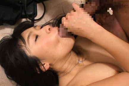 Nana ogura. Nana Ogura Asian gets violent penish in vagina and sperm in mouth