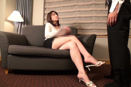 Japanese av model. Japanese AV Model with horny legs spreads