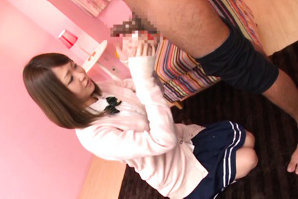 Yuuka yamaguchi. Yuuka Yamaguchi Asian in uniform gets ejaculate on face after suc