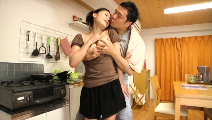 Kana tsuruta. Kana Tsuruta Asian has heavy breasts caressed and