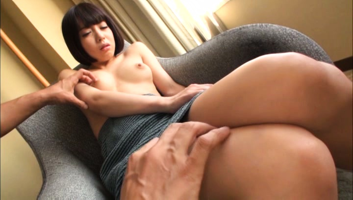 Japanese av model. Japanese AV Model with horny legs has cans