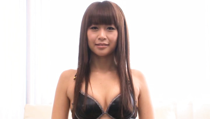 Japanese av model. Japanese AV Model in sexy lingerie fondles