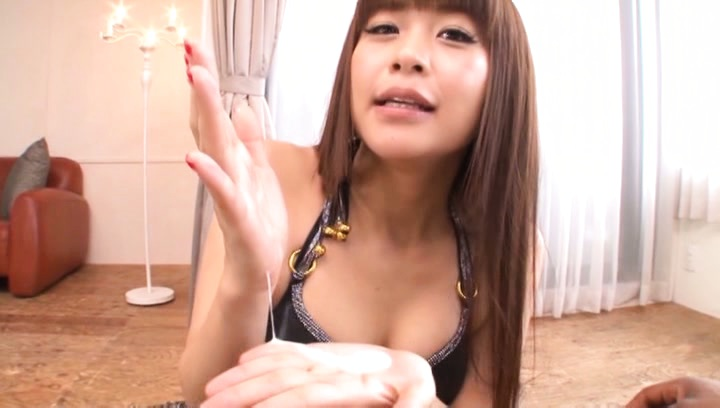 Japanese av model. Japanese AV Model with hot cans in bra suc